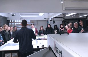 Student tours of Metro Imaging in London