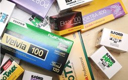 <h5>Film for Sale</h5> In addition to processing film we complete the service by offering film sales. We have a wide variety of film types at competitive prices which you can order along with your prints.