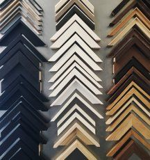 Frame mouldings - We have thousands of frame mouldings available to complement your chosen frame style