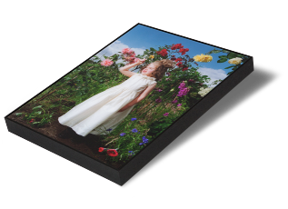 Keyline Photo Frame - Similar to tray frames but a more slimline offering. Works are often reverse Perspex float mounted with only a minimal gap between the work and the moulding.