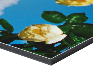 MDF mounting is an effective and economical way of displaying prints, available in 9 or 12mm thickness. Although heavy, MDF is very rigid and the painted edges create a finished effect for mounted prints that, especially when sealed, will stand up to the toughest environments.