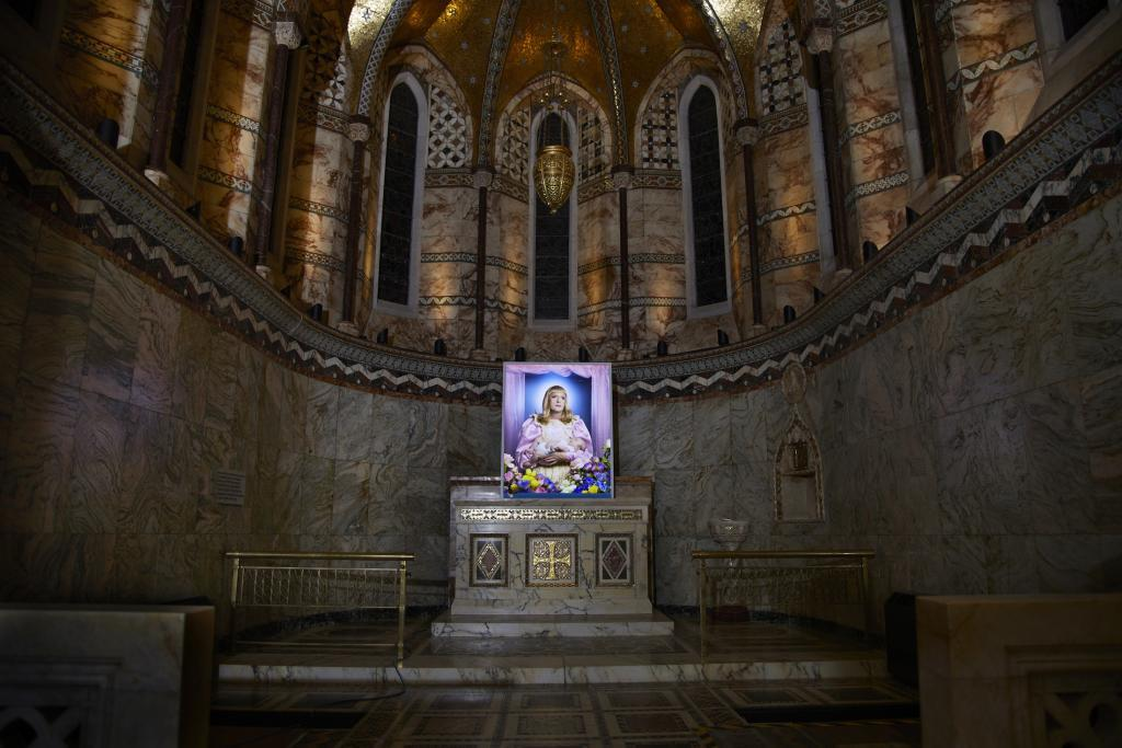 Created by renowned photographer Richard Ansett, this new portrait at the Fitzrovia Chapel focuses on Grayson Perry's alter ego, Claire.  'Claire is not a natural mother. This is a trans-immaculate conception and a perfect synergy with The Fitzrovia Chapel.' said Ansett of his new work 'Birth'. The 60×40″ photographic portrait is produced onto Kodak Duratran, then reverse mounted on acrylic, […]
